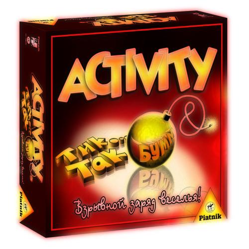 Настольная игра Activity + Tик Так Бумм