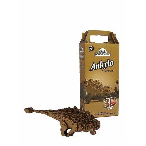 Пазл 3D Анкилозавр, 25 элементов