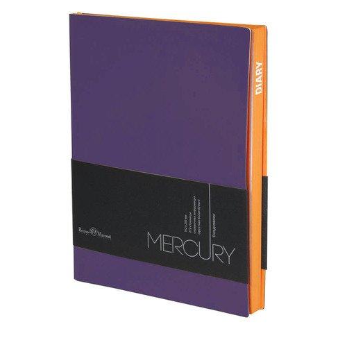 Фото - Ежедневник недатированный Mercury А5 фиолетовый ежедневник недатированный mercury сиреневый а5