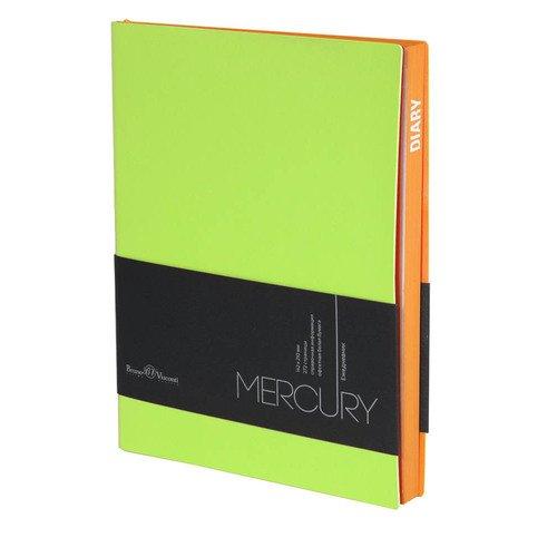 Фото - Ежедневник недатированный Mercury А5 салатовый ежедневник недатированный mercury сиреневый а5