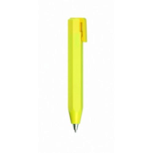 Шариковая ручка желтая с желтым зажимом шариковая ручка черная с серым зажимом