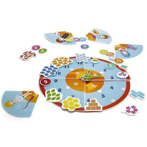 Купить Игра настольная развивающая Умные часики , Pic'nmix, Игры для детей