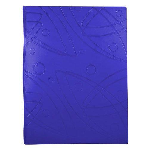 Папка на 2-х кольцах Galaxy А4 синяя папка файл на 4 кольцах темно синяя pvc 35 мм диаметр 20мм 08 1693 2 тс