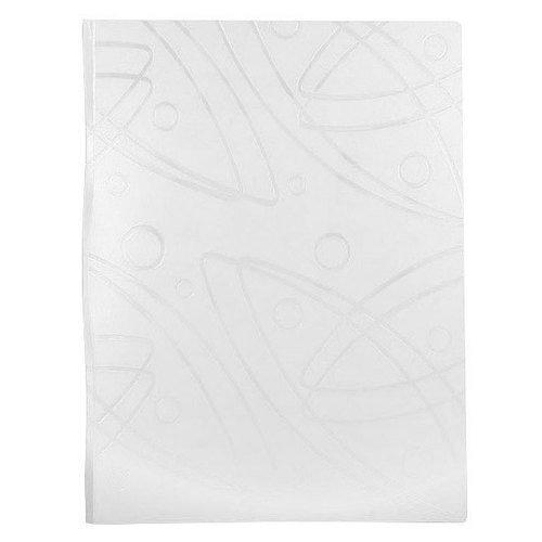 Папка с 40 прозрачными вкладышами Galaxy А4 белая berlingo папка diamond с 30 вкладышами цвет зеленый