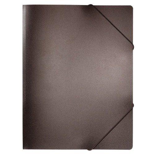 Папка на резинке А4 черная папка на резинке monocromo а4