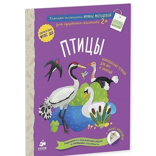 Птицы. Комплексная тетрадь для игр и занятий мальцева и насекомые комплексная тетрадь для игр и занятий умные наклейки