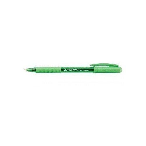 Ручка шариковая Grip, зеленая ручка шариковая зеленая goodmark