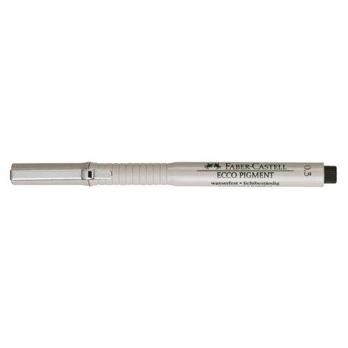 Ручка капиллярная Ecco Pigment, 0,3 мм капиллярная ручка ecco pigment 0 5 мм синяя