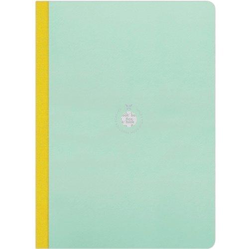 Блокнот в линейку Flexbook А4 голубой блокнот lucie animals а4 22 листа в линейку
