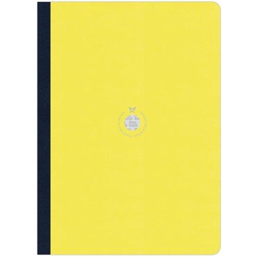 Блокнот в линейку Flexbook А4 желтый блокнот lucie animals а4 22 листа в линейку