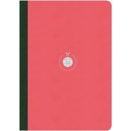 """Блокнот """"Writing"""" В5, 96 листов, в линейку, 17 х 24 см, розовый"""