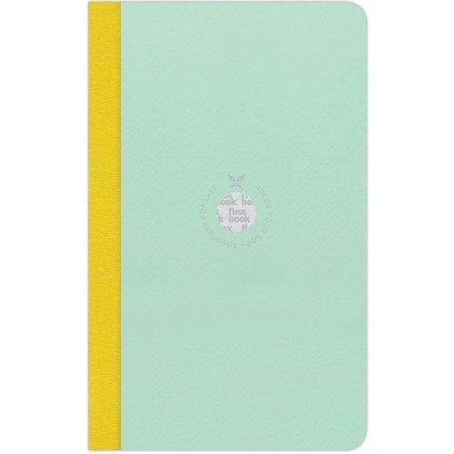 """Блокнот в линейку """"Flexbook"""", голубой / зеленый цена и фото"""