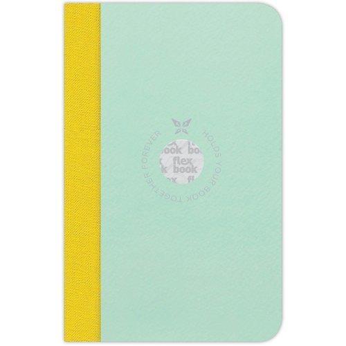 Фото - Блокнот в линейку Flexbook, голубой / зеленый домашний молитвослов семейный блокнот голубой