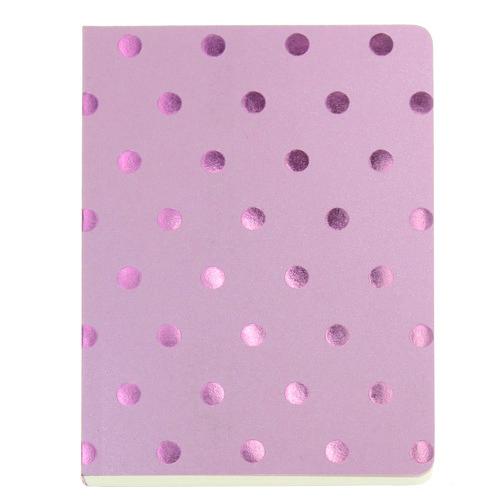 Блокнот Shimmer А6 розовый горох блокнот shimmer а6 кремовый горох