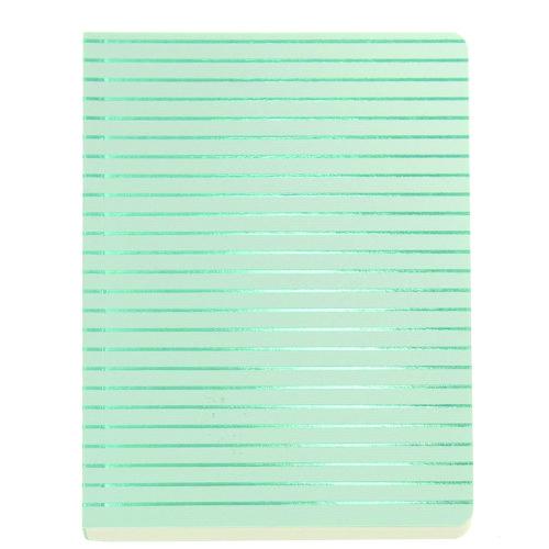 Блокнот Shimmer А6 бирюзовые полосы блокнот shimmer а6 кремовый горох