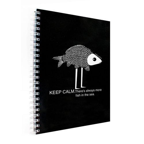 Блокнот Fish А4, 70 листов, в линейку блокнот lucie animals а4 22 листа в линейку