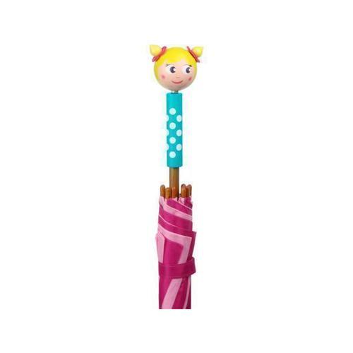 Зонт-трость детский Девочка paradise зонтик от солнца и дождя (upf50 ) автоматический складной в три раза