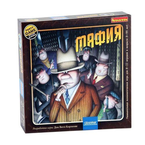 Фото - Настольная игра Мафия георгий подлесских женщины для мафии банкир и мафия