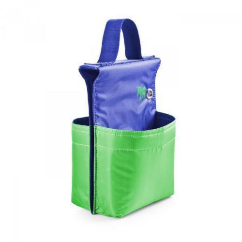 Велосумка для пикника, сине-зеленая