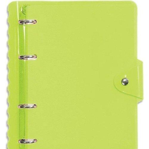Тетрадь Neon с кольцевым механизмом А5 зеленая тетрадь neon 120 листов в клетку 17 5 х 21 2 см зеленая