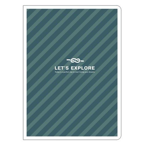 купить Тетрадь в клетку Let's explore дешево