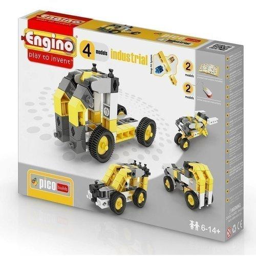 Конструктор Спецтехника, 4 модели конструктор игровой для ребенка engino pico builds inventor pb14 спецтехника