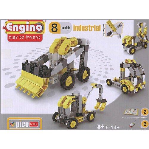 Конструктор Спецтехника, 8 моделей конструктор игровой для ребенка engino pico builds inventor pb14 спецтехника