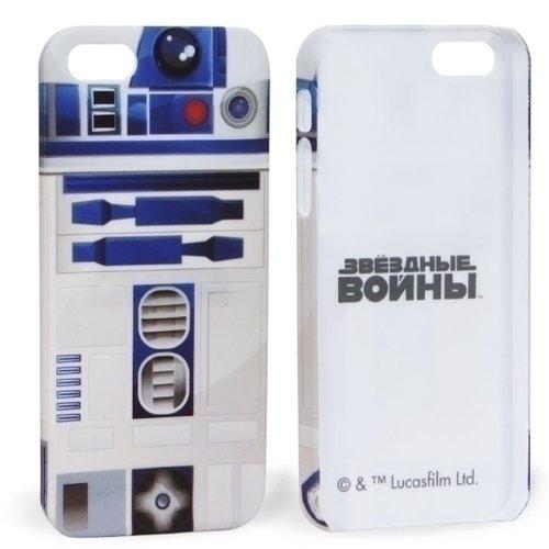 """все цены на Крышка задняя для iPhone 5 """"R2-D2"""" онлайн"""