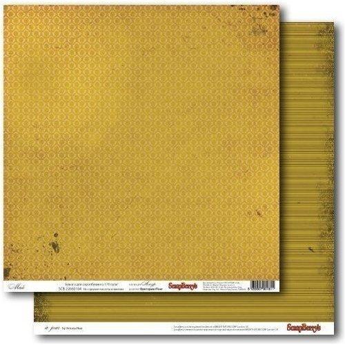 Бумага для скрапбукинга двусторонняя Май бумага для скрапбукинга 30 5х30 5 см 190 гр м двуст счастливый день цветущий сад