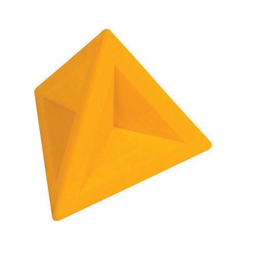 Ластик треугольный желтый цена