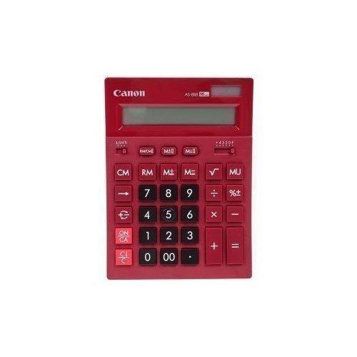 Калькулятор бухгалтерский AS-888-RD бордовый калькулятор бухгалтерский as 888 gr зеленый