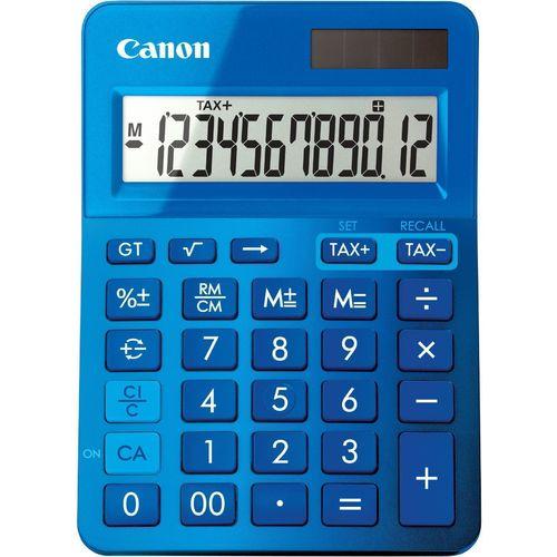 Калькулятор настольный LS-123K-MBL синий