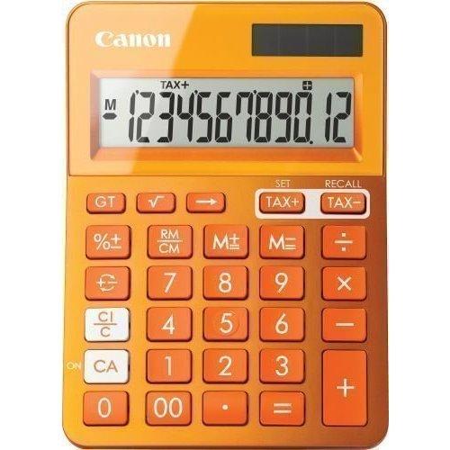 """Калькулятор настольный """"LS-123K-MOR"""", оранжевый"""