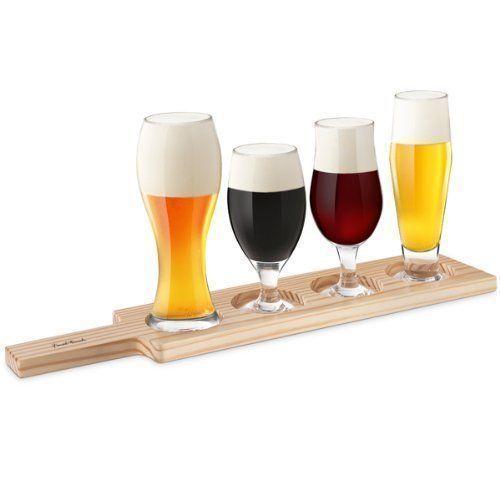 Набор мини-бокалов для дегустации пива, 4 шт.