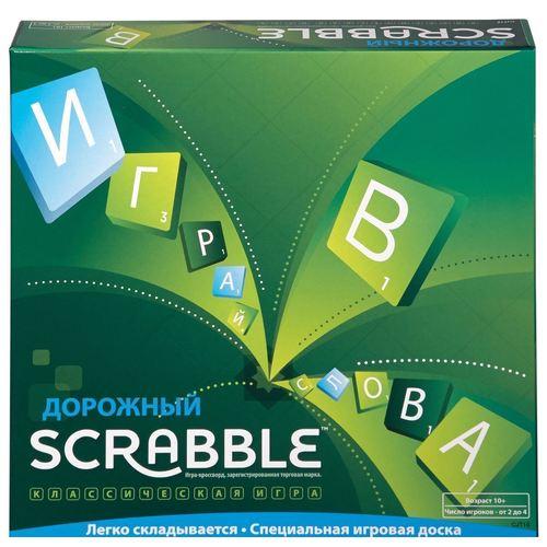 """Настольная игра """"Scrabble. Дорожный"""""""