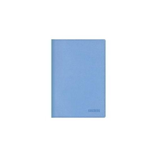 Ежедневник недатированный Premium collection А5 голубой maestro de tiempo ежедневник estilo недатированный 288 листов цвет голубой формат a5