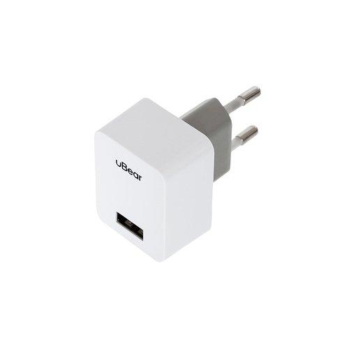 Сетевое зарядное устройство WC01WH01-AD USB Wall Charger 1А белое сетевое зарядное устройство prime line mini usb 1а черный