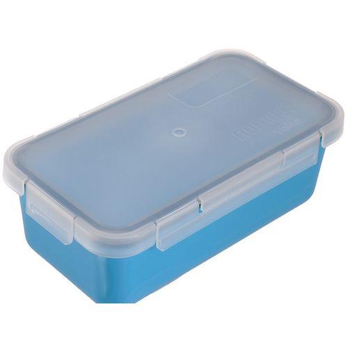 Герметичный пищевой контейнер 6090/66, 0,75 л, голубой контейнер пищевой tatay цвет серый 2 9 л