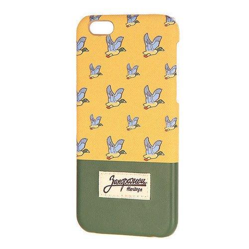 "цена Чехол для iPhone 6 Plus ""Дичь"" Beige/Green"