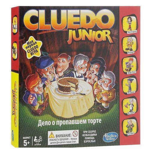 """Настольная игра Cluedo Junior """"Дело о пропавшем торте"""""""