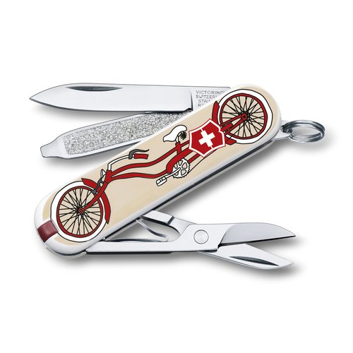 "Нож перочинный Classic ""Bicycle"" 0.6223.L1506 европа нож брелок victorinox classic bicycle 0 6223 l1506"