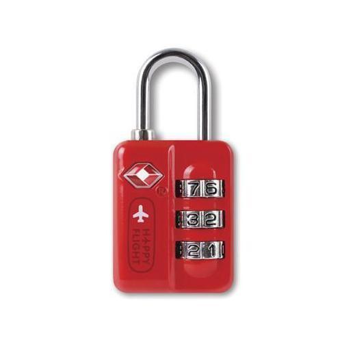 Замок для багажа TSA HF-043 красный электроприбор donolux hf 350w 24