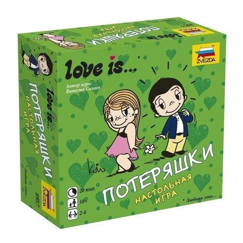 Настольная игра Love is... Потеряшки настольная игра звезда для вечеринки love is потеряшки