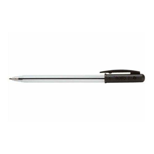 Шариковая ручка с поворотным механизмом черная