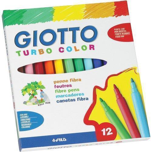 """Фломастеры """"Turbo Color"""", 12 цветов"""