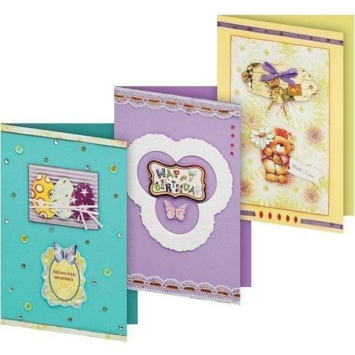 Набор для создания 3-х открыток Сувенир набор для создания 3 х открыток сувенир