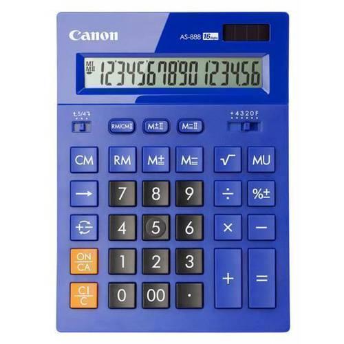 Калькулятор бухгалтерский AS-888-BL синий калькулятор canon as 220rts