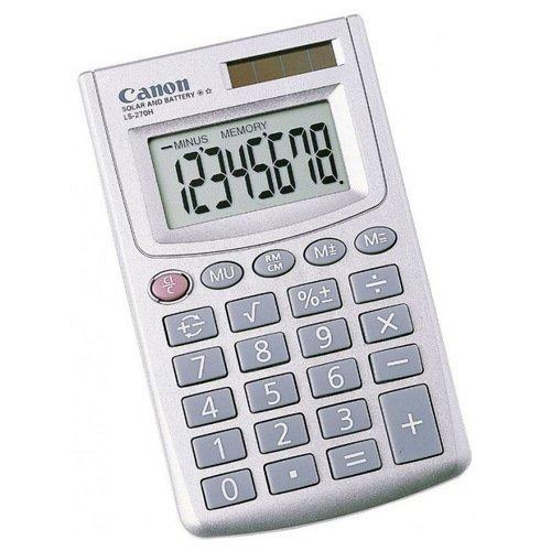 Калькулятор карманный LS-270H серебристый для животных характерно автотрофный тип питания