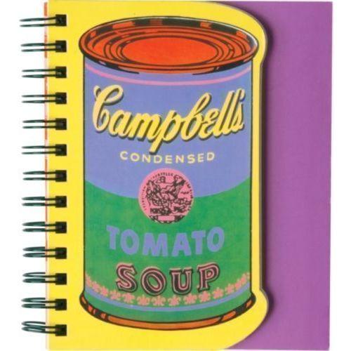 Блокнот в линейку Andy Warhol. Soup Can i sold andy warhol too soon
