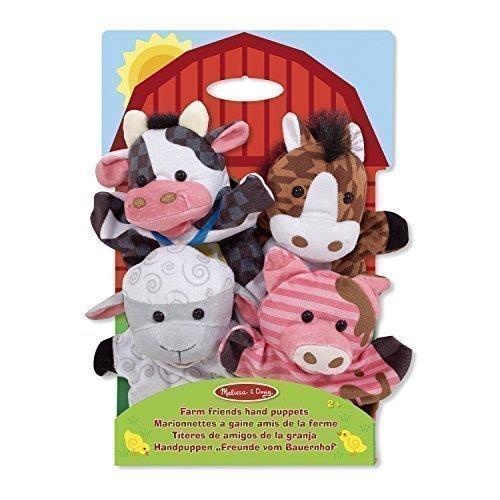 Мягкие игрушки на руку Ферма мягкие игрушки